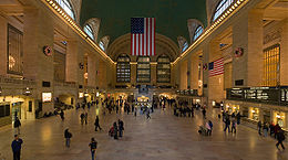 The Biltmore was located next to Grand Central!