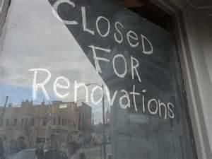 closedfor renov